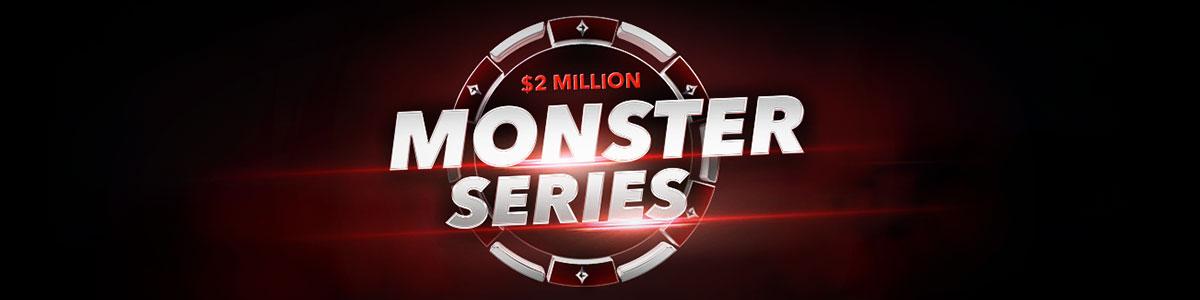 partypoker, monster series