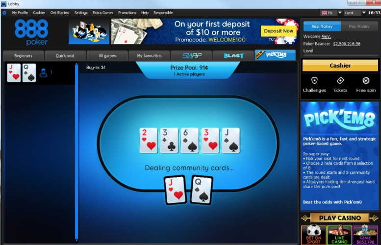 888poker launches 1