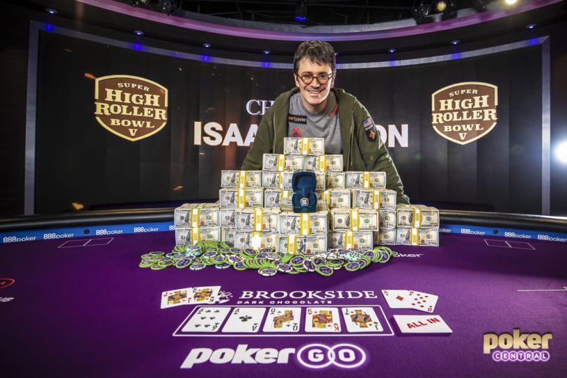 Ike Haxton Wins Super High Roller Bowl V
