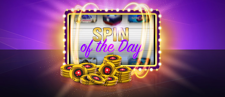 Spin Of The Day By Pokerstars Win Every Day Spin Of The Bonus Wheel