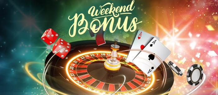 Weekend Bonus By 888 Casino Win 5 Each Day