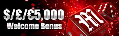 MansionCasino Welcome bonus