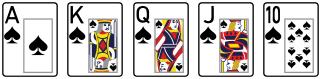 big hand royal flush