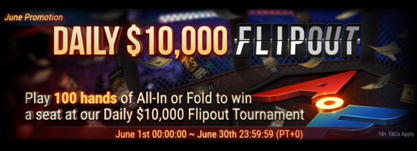 DAILY $10,000 FLIPOUT