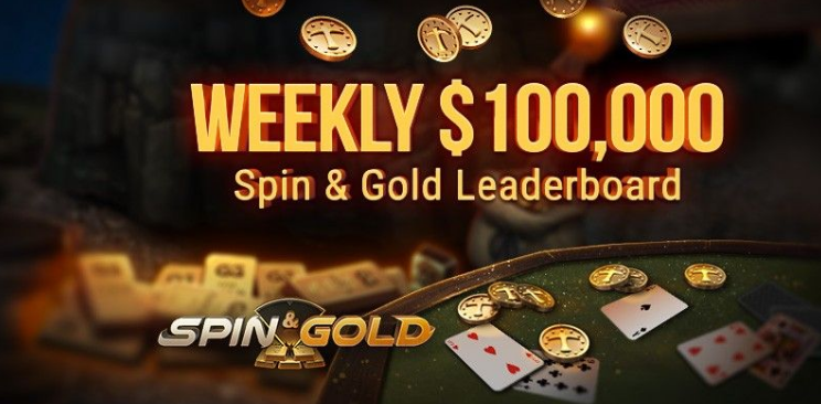 Weekly $100,000 Spin & Gold Leaderboard