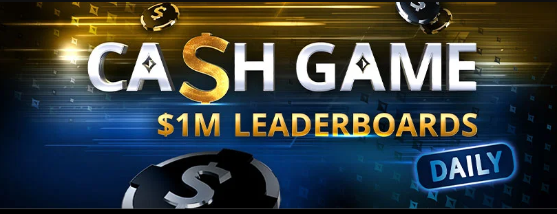 daily cash game leaderboar