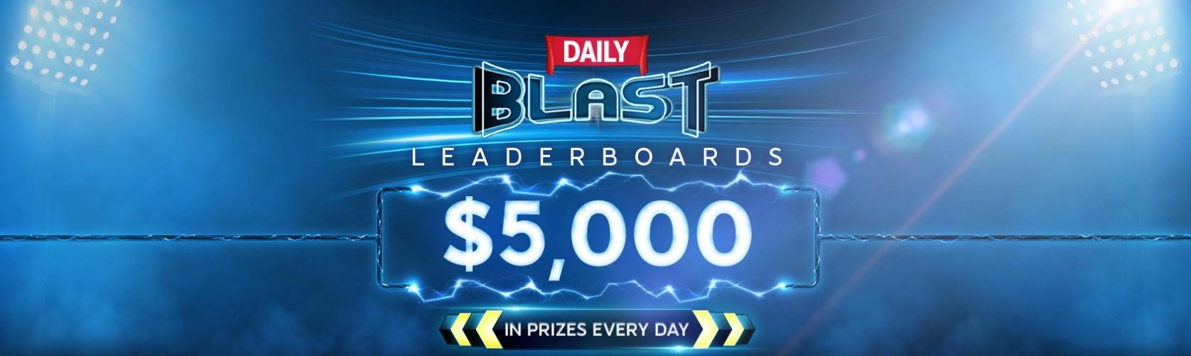 Blast Poker Leaderboards