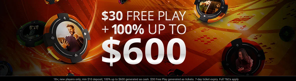 PARTYPOKER WELCOME OFFER