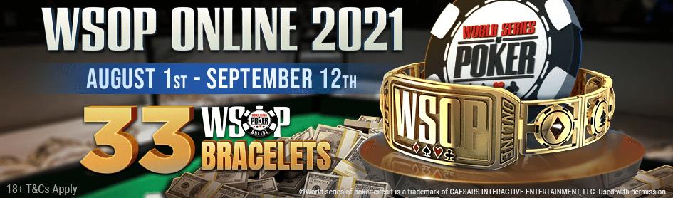 WSOP Online 2021