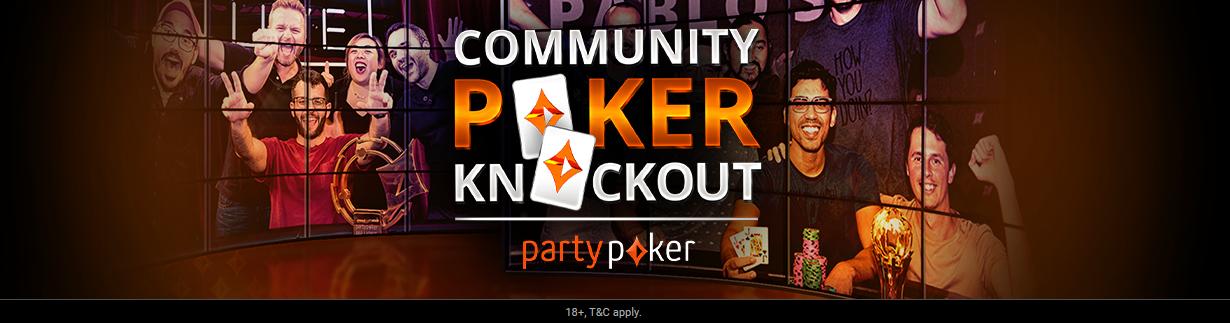 Community Poker Knockout